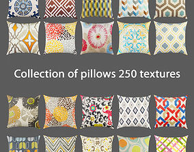 Colection of pillows 3D