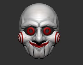 3D print model Saw Billy Puppet - Mask for Cosplay