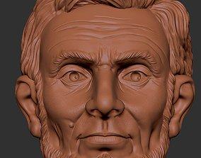abraham lincoln 3D printable model