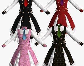 woman 3D Lolita Dress