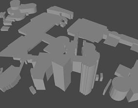 Low Poly Building Asset 3D model