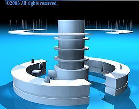 3D model Reception2