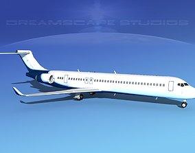 3D Comac ARJ21-900 Corporate 2