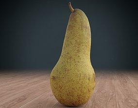 pear low poly 3D asset