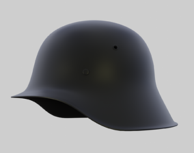 Helmet hat 3D model