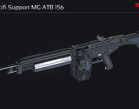 3D model Scifi Support MG ATB 156