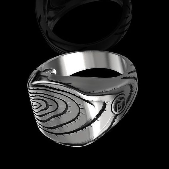 Men Ring 3D print model