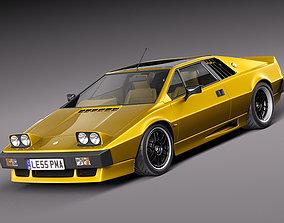 Lotus Esprit 1978 S2 Turbo 3D