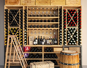 3D model Wine Cellar