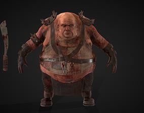 3D model Fat Warrior