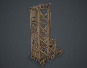 3D asset Siege Tower