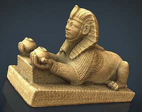 The Alabaster Sphinx 3D model