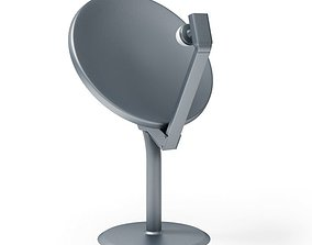 3D model Satelite Dish Antenna