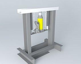 3D model Press machine