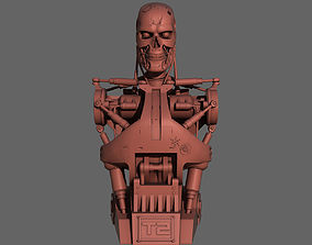 Terminator T-800 Torso Bust for 3d printing