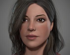 3D model Female Realtime