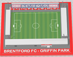 Brentford FC - Griffin Park 3D print model