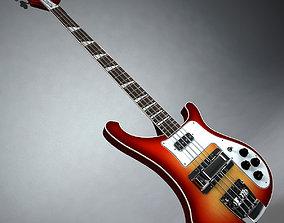 3D Rickenbacker Bass