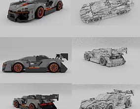 Lego Speed Champions McLaren Senna 3D asset