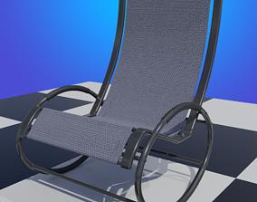 3D model Tube Frame Patio Rocker