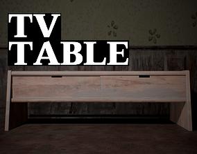 TV Table 3D asset