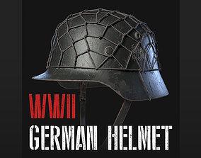 German WW2 Helmet Stahlhelm 3D asset