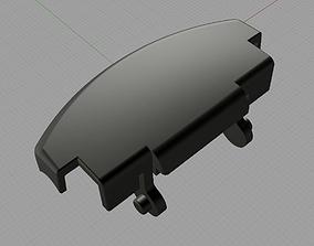 3D printable model VW Armrest Handle Lock part replacement