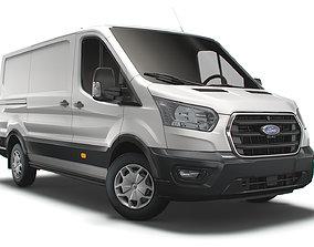 Ford Transit Van L2H1 Trail 2021 3D