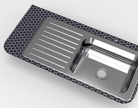 3D printable model Kitchen Sink 6