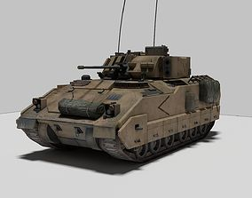 3D model Military Vehicle Bradley