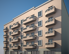 building Apartment Building 18 3D model