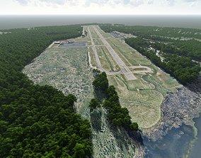 3D Cape Fear Regional Jetport