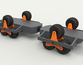 3D Chassis with Terrastar wheel system
