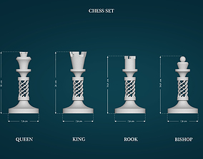 Chess Figures 3D printable model