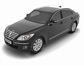 Hyundai Genesis 2009 3D