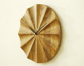 Wall clock 3d model for CNC router P4-003