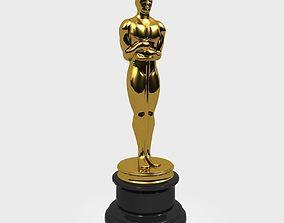 Oscar Statue 3D model