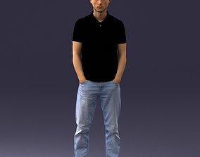 3D print model Man in casual clothes 1226
