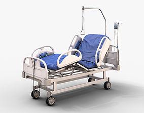 Hospital Bed 3D model PBR