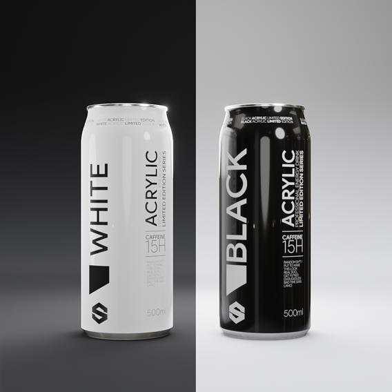Acrylic Energy Drink | Fake Ad