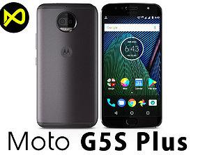 3D model Motorola Moto G5S Plus Gray