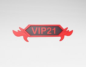 Game VIP Symbol v4 007 3D model