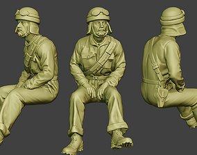 Italian Tank Crew Unit ww2 Sit4 ITCU1 3D printable model