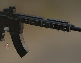 M16A4 3D asset