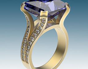 Ring Four Ribbons 3D printable model
