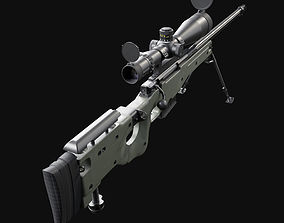 Accuracy International AWM L115A3 3D model