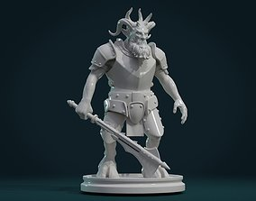 Demon figure III 3D printable model