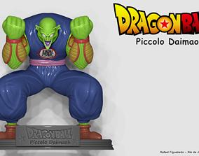 3D printable model Dragon Ball -Piccolo Daimaoh