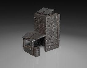 Post Apocalyptic Kitchen Storehouse 3D print model 1