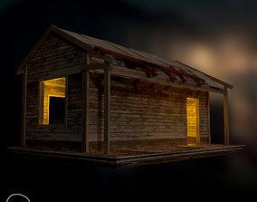 3D model Old Cabin